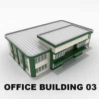 3d model of office building 03