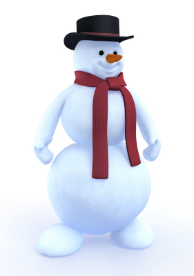 cartoon snowman 3d 3ds
