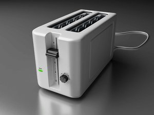 3ds max classic toaster