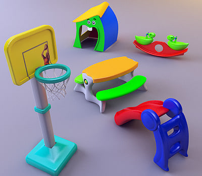 toys plaything 3d max