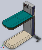 robotic veterinary table 3d model
