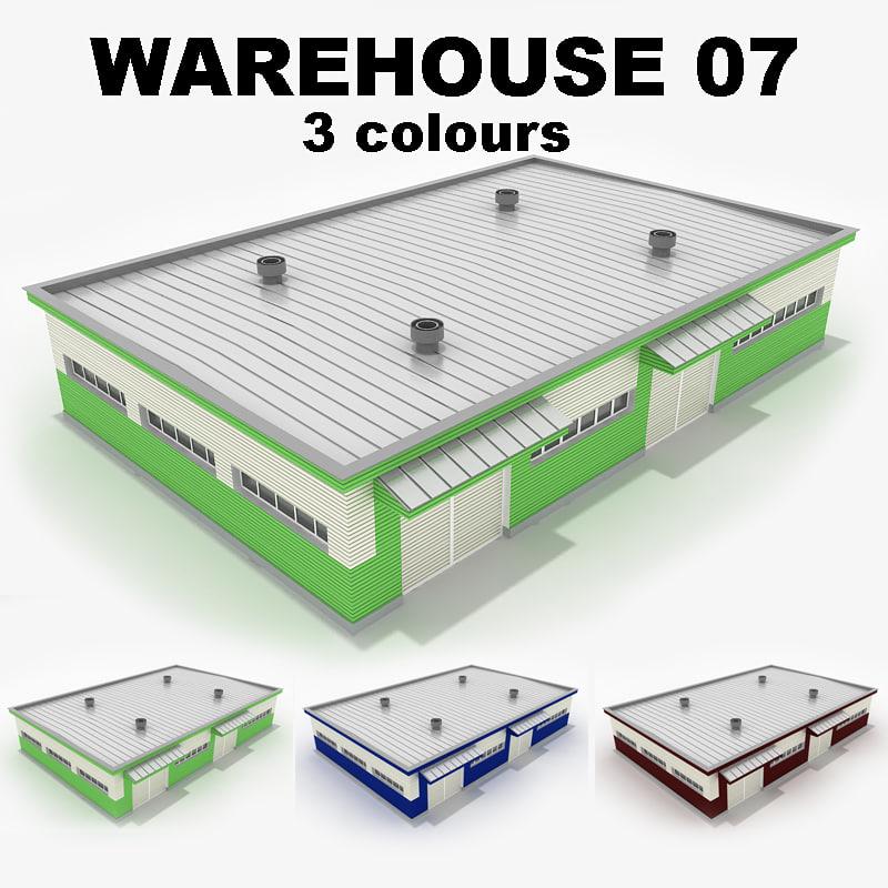 3d warehouse 07 model