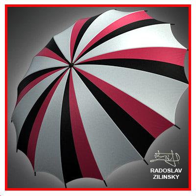 3ds max umbrella rain