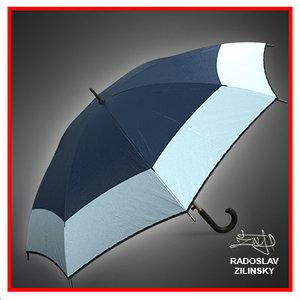 3d model umbrella rain