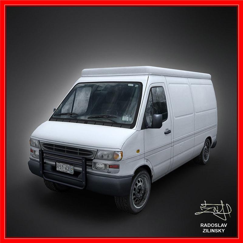 3d van clean version