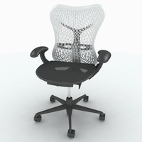 Herman Miller Mirra Chair (solid back)