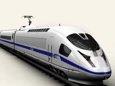 3d generic speed train model