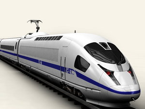 3d generic speed train model