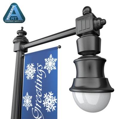 decorative street lamp holiday lwo