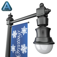 Holiday Street Lamp 1