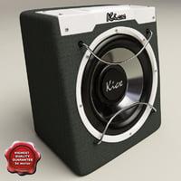 Kicx ICQ-300 Black
