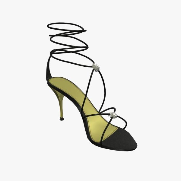 woman shoes 3ds