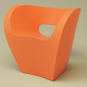 3d small armchair little albert model