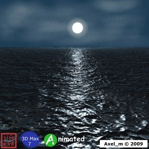 ocean scene max
