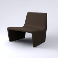 3d model contemporary patty chair