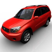 3d model of toyota rav4 base