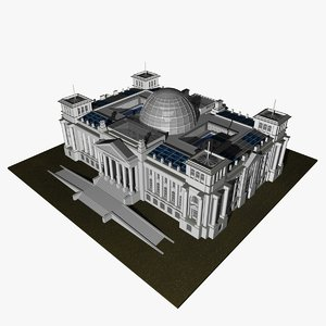 3d model parliament reichstag