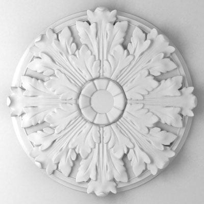 decorative rosette 3d max