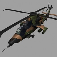 Eurocopter Tiger HAD Australian Gunship Game Ready model