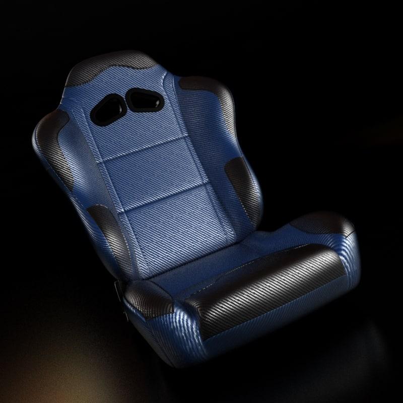 racing seat 3d max
