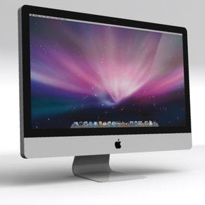 apple imac led 27 3d max