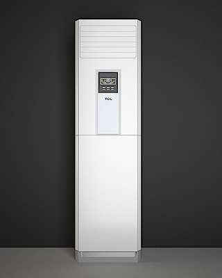 standing air conditioner 3d max