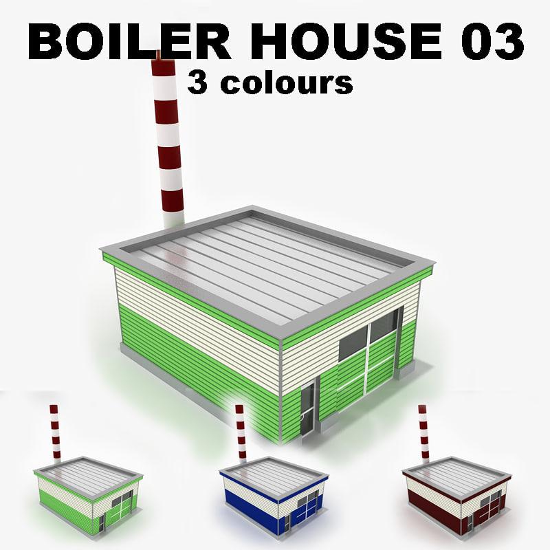 3d model boiler-house 03