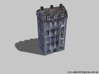 1940 building 3d 3ds