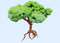 cartoon tree.max