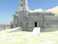 stronghold 3d obj