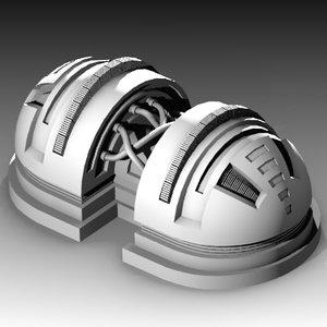3d model multipurpose technological prop