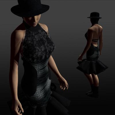 maya crocodile dress