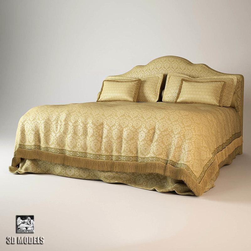 3d halley bed model