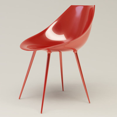 3ds chair polyurethane