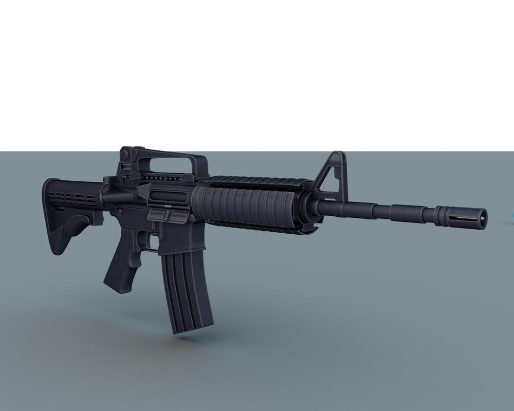 rifle m4 max