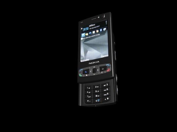 nokia n95 8gb 3d max