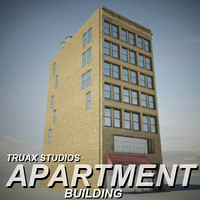 3ds max truax apartment building 02