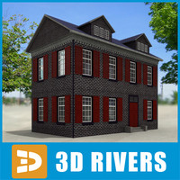 Small town house 21 by 3DRivers