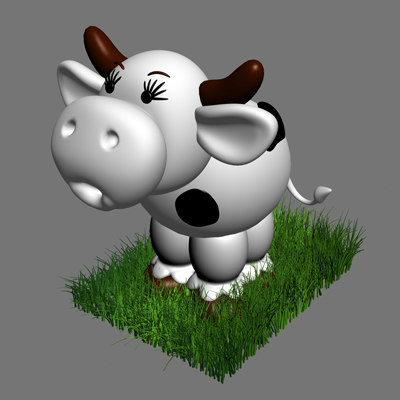 cartoon cow max