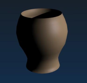 3d ceramic vase