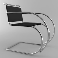 3d model mr chair