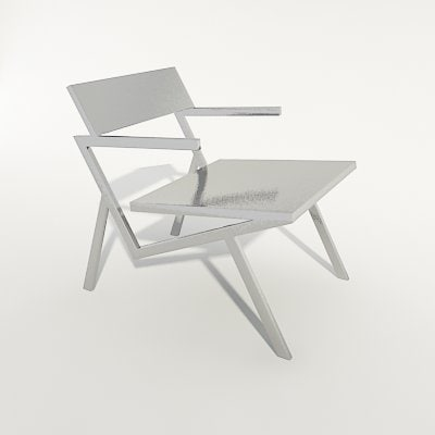 3d modern design chair