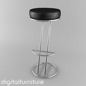 3ds max zeta stool