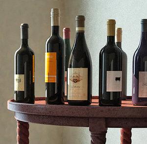 wine table 3d model