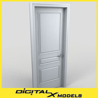 3d residential interior door 08