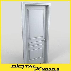 3d residential interior door 08