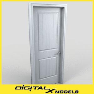 3d model residential interior door 10