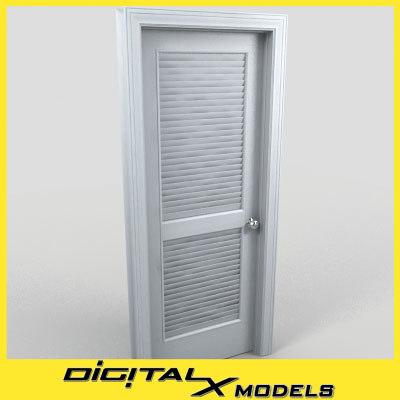 3d model of residential interior door 20