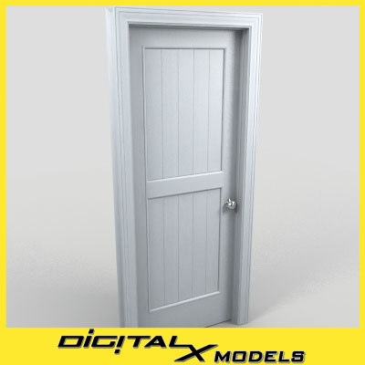 residential interior door 21 3d model