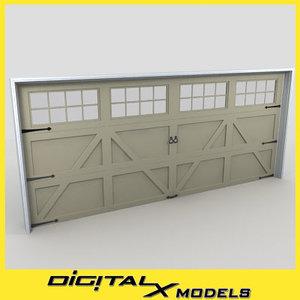 3d residential garage door 23